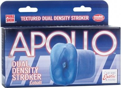 Dual density stroker blue, фото 2