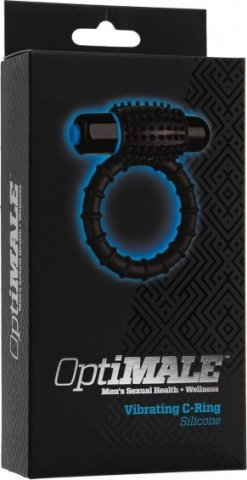 Optimale vibrating c-ring black, фото 2