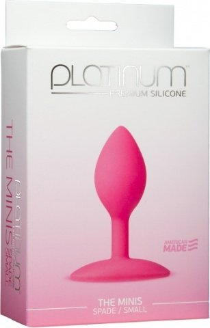 Platinum the minis spade pink s, фото 2
