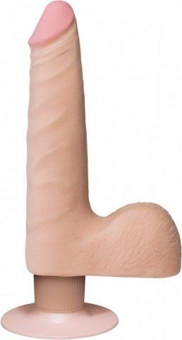 Realistic cock slim vibr 7'' flesh