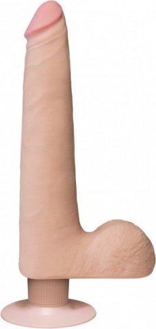 Realistic cock slim vibr 9'' flesh