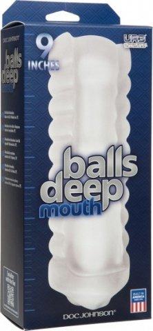 Balls deep 9'' stroker ass frost, фото 2