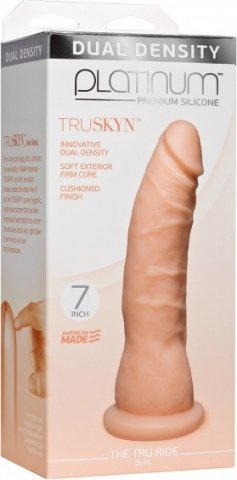 Platinum tru ride slim 7 inch flesh, фото 2