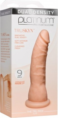Platinum tru ride slim 9 inch flesh, фото 2