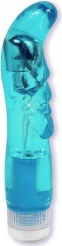 голубой вибратор lucid dream 0928-01bxdj 21 см, фото 3