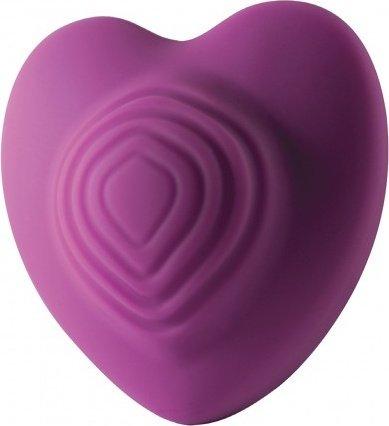 Стильный вибромассажер Heart Throp - Rocks-Off, цвет Фиолетовый