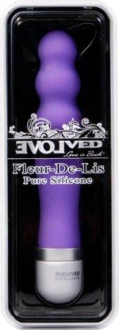 Вибратор-лочка фиолетовый silicone bliss en-ar-1005-02-2, фото 2