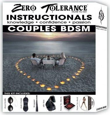Набор how to couples bdsm, цвет черный, фото 2
