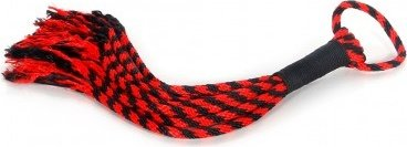 Scarlet couture rope flogger