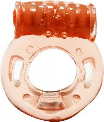 Vibrating pleasu ring caesar peach