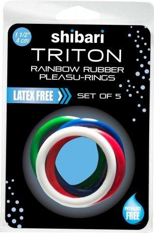 Triton rainbow rubber pleasu-rings, ���� 2