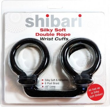 Silky soft double rope wrist cuffs