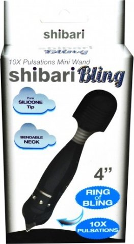 Bling mini wand black, фото 2