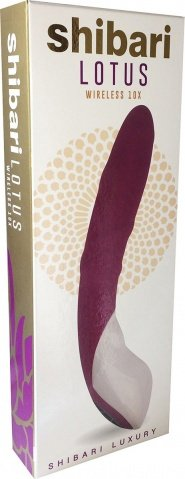 Lotus wireless vibrator purple