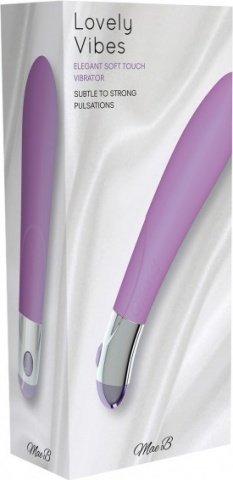Elegant vibrator purple, фото 2