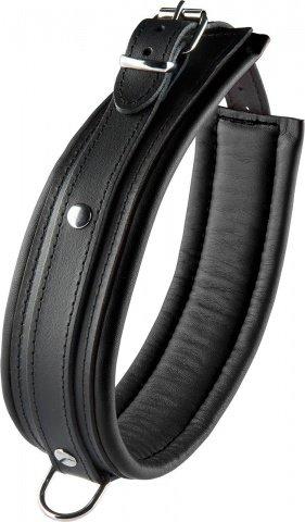 Collar black 5 cm