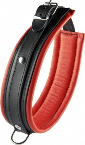 Collar red 5 cm