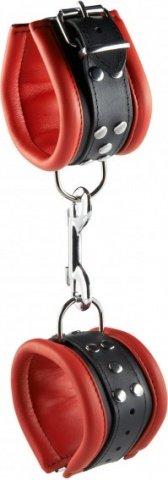 Hand cuffs red 6,5 cm