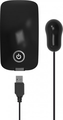 Energy pack with usb bullet black