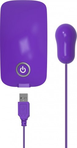 Energy pack with usb bullet purple