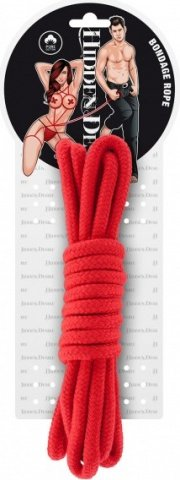 Bondage rope 3 meter red, ���� 2
