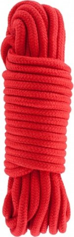 Bondage rope 10 meter red
