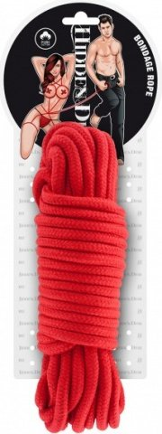 Bondage rope 10 meter red, фото 2
