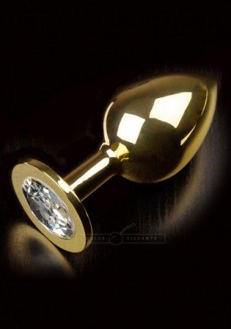 Jewellery large gold diamond