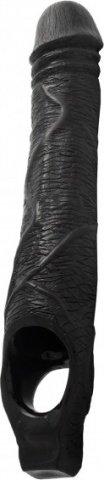 Фаллопротез Tsx Scrotamax Extender - Mister B (33 см), цвет Черный, фото 2