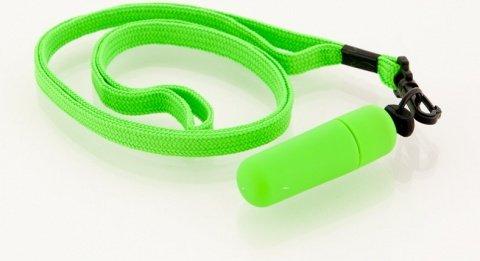 Вибратор зеленый Funny Five 10 штук, фото 2