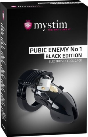 Pubic enemy no 1 cock cage black, ���� 2