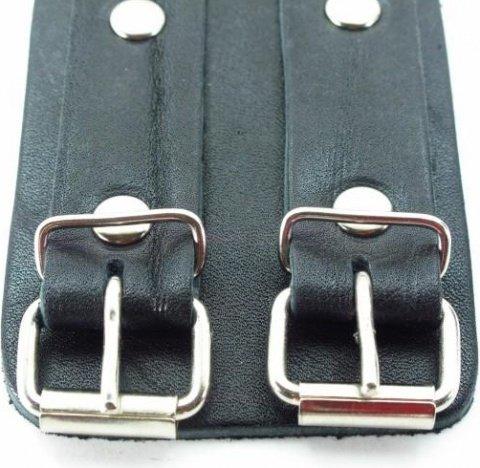 Наручники широкие с двумя ремешками, фото 3