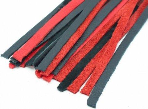Плеть черно-красная с красной ручкой Турецкие головы, фото 3