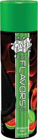 Лубрикант Wet Fun Flavors Watermelon Blast 116 mL, фото 2