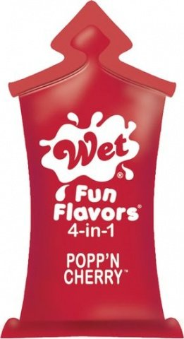 Лубрикант Wet Fun Flavors Popp'N Cherry подушечка10mL