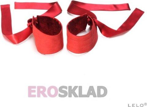 Шелковые наручники etherea (lelo), цвет черный, фото 2