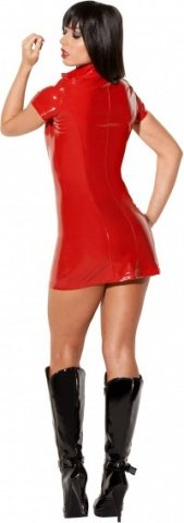 Dress lack with zipper red xl, фото 3