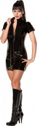 Dress lack with zipper black