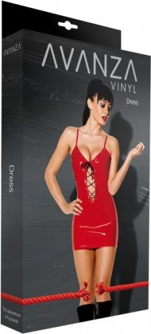 Dress lack w shoe string red, ���� 2