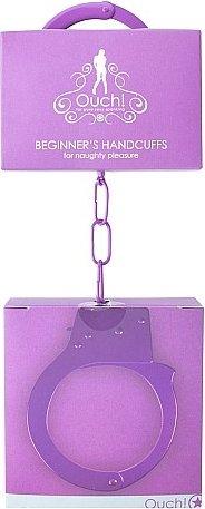 наручники ouch! purple sh-ou001pur, фото 2