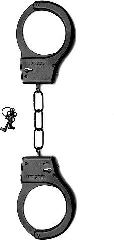 металлические наручники shots toys black sh-sht347blk