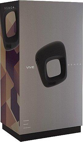 вибрирующее кольцо senca - black sh-vive001blk, фото 2