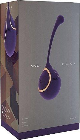 виброяйцо zeki - purple sh-vive007pur, фото 2