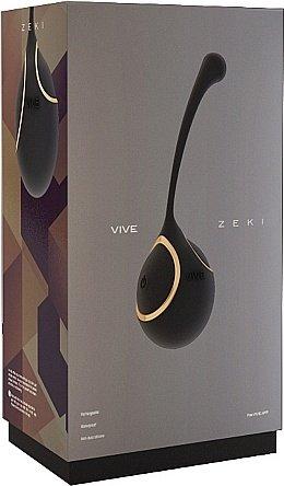 виброяйцо zeki - black sh-vive007blk, фото 2
