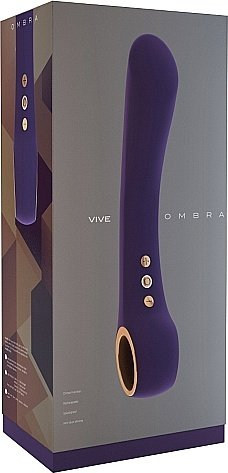 вибратор ombra purple sh-vive009pur, фото 2