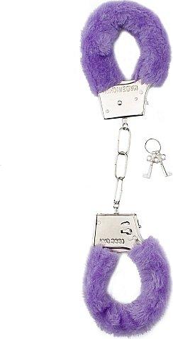 Наручники Furry Handcuffs Purple SH-SHT255PUR 26 см
