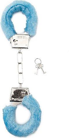 ��������� Furry Handcuffs Blue SH-SHT255BLU