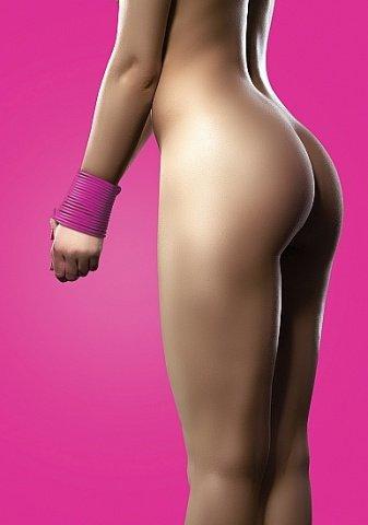 силиконовая лента для бандажа розовая ouch sh-ou093pnk