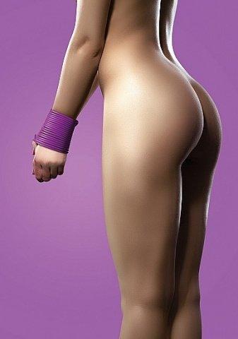 силиконовая лента для бандажа фиолетовая ouch sh-ou093pur