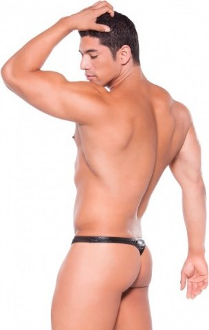 Thong wetlook black os, ���� 2
